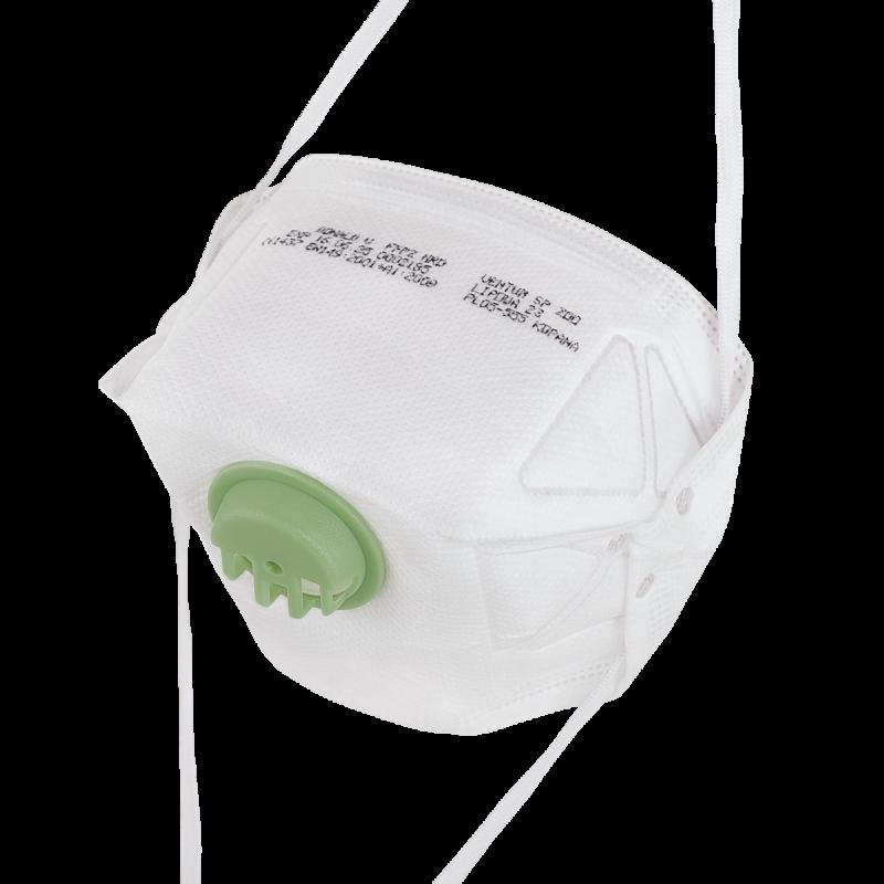 Respirator DONALD FFP2 V NR D
